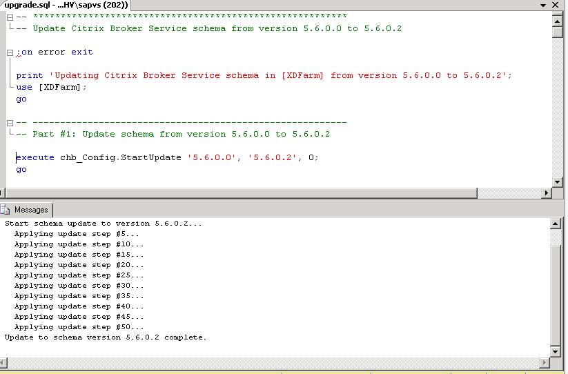 SQL: Database update