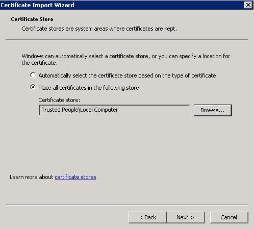 VMWare Certicate