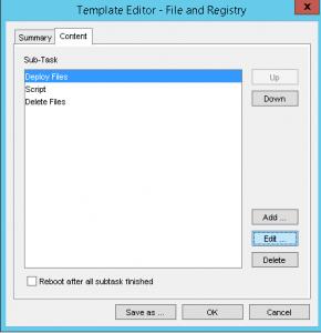 Template Editor